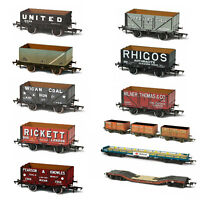 Oxford Rail Painted Wagons Plastic Model OO Gauge 1/76 Scale Railway Track BNIB