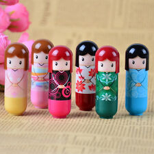 Lovely Puppet Doll Clear Moisturizing Lip Balm Pomade Cream (Random Pattern)