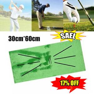 NEU Golf Trainingsmatte für Swing Detection Batting Practice Training Aid Spiel