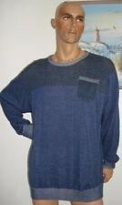 Herren PULLOVER in Blau der Marke Identic in Gr. 4XL
