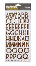 Thickers - Wisecrack - Gold Duo Alphabet Stickers