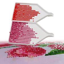 10Pcs Diamond Painting Drill Plate Tray Tool Rhinestone Storage Container Box GL