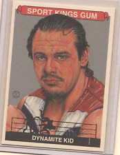 DYNAMITE KID 2015 LEAF SPORTKINGS SILVER BASE CARD