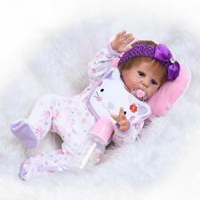 "22"" Realistic Reborn Baby Newborn Sleeping Real Looking Baby Doll Girl Lifelike"
