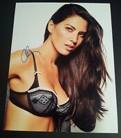 "OLIVIA MUNN Authentic Hand-Signed ""SEXY ~ IN BRA"" 11x14 photo"