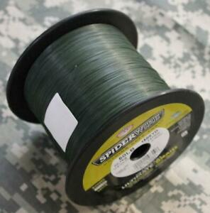 Spiderwire Ultracast Ultimate Braid Fish Line 50# Test 1500 Yds LowVis Green NEW