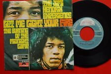 "JIMI HENDRIX LET ME LIGHT YOUR FIRE/BURNING OF THE MIDNIGHT LAMP 1969 EXYU 7""PS"