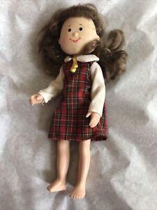 """Eden Madeline's Friend 8"""" Doll Danielle Brunette~Dress~Learning Curve"""