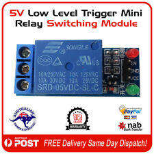 5V Low Level Trigger Mini Relay Switching Module -  FREE POST AUSTRALIA