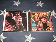 KENNY LOGGINS - Alive + High Adventure FIRST PRESSINGS RARE 3 DISCS LOT!! *MINT*