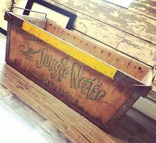 Very Rare Vintage 1961 Jungle Nectar Banana Soda Fruit Wood Crate Boston Ma
