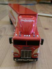 1997 Budweiser Matchbox Collectibles Diecast Freightliner Tractor Trailer Truck