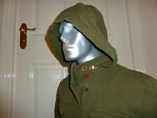 "BNWT LEVIS HOODED OLIVE ""FIELD JACKET"" UNISEX Size L, 44"" CHEST CASUAL/FESTIVAL"
