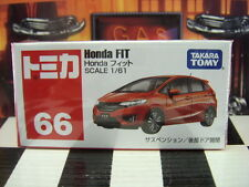TOMICA #66 HONDA FIT 1/61 SCALE NEW IN BOX