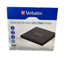 VERBATIM CORPORATION 98938 EXTERNAL SLIMLINE CD/DVD WRITER