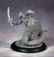 ShadowSea (Stygian Cabal) - Snakeman Warrior - Resin miniature New