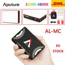 New Aputure AL-MC LED 3200-6500K RGB Light HSI/CCT/FX Video Lighting Photography