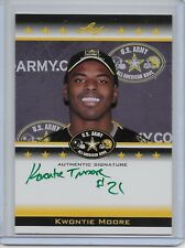 2012 Leaf US Army All-American Bowl Kwontie Moore Auto #'d 4/10