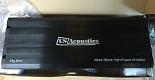 NEW Old School Design US Acoustics Class D Mono Block Amplifier,3500 Watts RMS