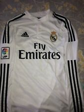 Real Madrid Long Sleeve Jersey 2014/15 Sergio Ramos #4  Size M