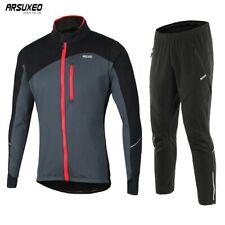 Conjunto De Chaqueta de ciclismo a prueba de viento Impermeable Ropa Térmica Sportswear Bicicleta trajes