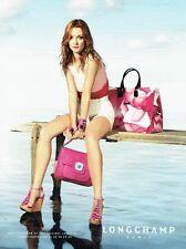 PUBLICITE ADVERTISING 126  2011  Pret à porter sac accessoires Longchamp