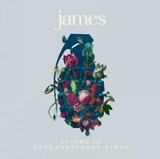 JAMES - LIVING IN EXTRAORDINARY TIMES - NEW MAGENTA VINYL LP (INDIES ONLY)