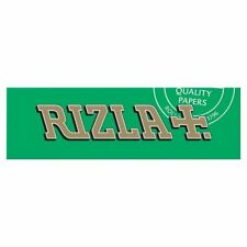 Full Box of 100 Booklets Rizla Green Medium Thin Rolling Cigarette Papers £15.99
