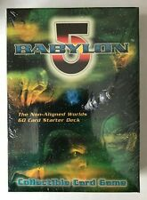 Babylon 5 Collectible Card Game – League of Non-Aligned Worlds Starter Deck
