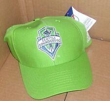 NEW MLS Seattle Sounders FC Hat Cap OSFA Men Adjustable Baseball Hat Cap NEW NWT