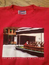 Art Institute Of Chicago Christmas Sweatshirt shirt Men Large Santa nighthawks