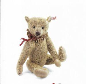 """STEIFF""""MILLIE TEDDY BEAR"""" EAN 035722  GOLDEN BROWN MOHAIR- 12"""" JOINTED-2012"""