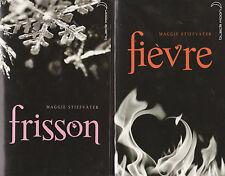 FRISSON - FIEVRE Maggie Stiefvater  livre roman jeunesse