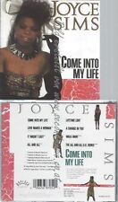 CD--JOYCE SIMS--COME INTO MY LIFE -REMIXES-