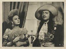"""JOSE CIBRIAN & GLORIA LYNCH in """"El Hombre de la Mascara de Hierro"""" Original 1943"""