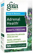 Adrenal Health Nightly Restore, Gaia Herbs, 60 capsule 1 pack