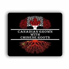 Canadian Grown With Chinese Roots Computer Mouse Pad