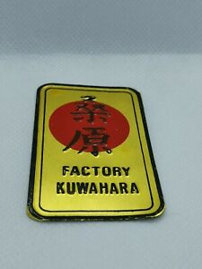 1980's Kuwahara headtube Badge Decal - Old school bmx