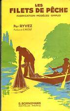 Livre ancien les filets de pêche Ryvez book