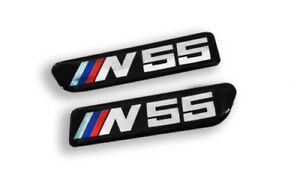 PAIR BMW E90 E92 E93 M3 335 N55 Fender Side grille badge 51138042228 Compatible