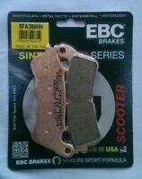 Suzuki UH125 Burgman (2007 to 2013) EBC Sintered FRONT Brake Pads (SFA388HH)