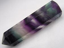 Fluorite Crystal Point - FREE Fast Shipping, Best Price, US SELLER Purple Green