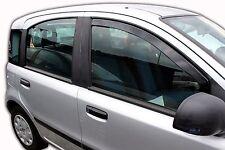 FIAT PANDA 5 door 2003-2012 Front wind deflectors 2pc set TINTED HEKO