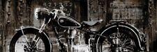 BMW R25 CYCLE ART PRINT - Vintage Motorcycle by Dylan Matthews 36x12 Bike Poster
