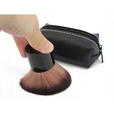 MAC 182 Kabuki Bronzing Brush Contour Make Up Powder Blusher With Black Pouch