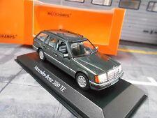 MERCEDES BENZ E Klasse W124 Kombi 300 TE S124 grün 1990 Maxicham Minichamps 1:43