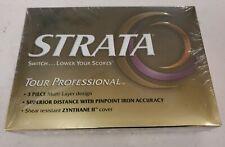 STRATA Tour Professional GOLF BALLS set of 12 Golf Balls New Factory sealed
