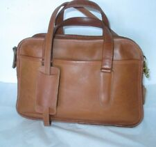 "COACH / Bonnie Cashin Vintage British Tan ""Skinny Flight"" Shoulder Bag - Rehab"