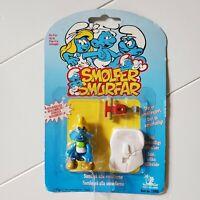 Vintage Smurfs Smolfer Smurfar 1996 Peyo Toy Island New in Package