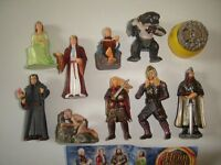LORD OF THE RINGS 3 LOTR KINDER SURPRISE FIGURES SET -  FIGURINES COLLECTIBLES